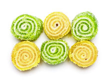 Spiral Gelatin Sweets Stock Image