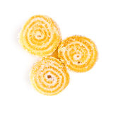 Spiral Gelatin Sweets Royalty Free Stock Photos