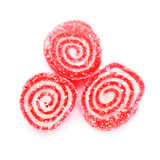 Spiral Gelatin Sweets Royalty Free Stock Photography