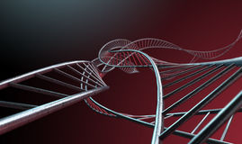 Spiral Genetics Strands Stock Image