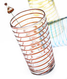 Spiral Glassware Royalty Free Stock Photography