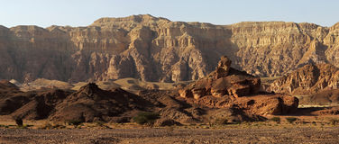 Spiral hill at Timna park , Israel Stock Images