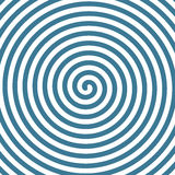 Spiral hypnotic background. Stock Photography