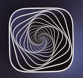Spiral Illusion Royalty Free Stock Photo