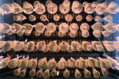Spiral Incense in Buddhist Pagoda Saigon, Vietnam Royalty Free Stock Photography