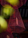 Spiral joss stick incense Stock Image