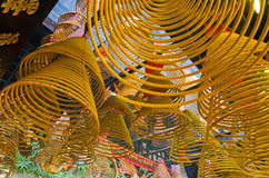 Spiral Joss Sticks Royalty Free Stock Image