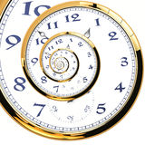 Spiral klocka Royaltyfri Fotografi
