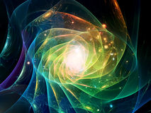 Spiral of Light Royalty Free Stock Images