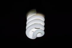 Spiral Light Bulb Stock Image