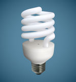 Spiral Light Bulb Royalty Free Stock Photography