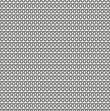 Spiral linear seamless black and white pattern. royalty free illustration