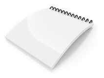 Spiral lined notebook Royalty Free Stock Images