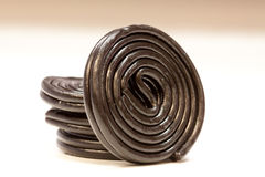 Spiral liquorice Royalty Free Stock Photography