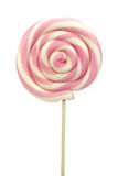 Spiral lollipop on white background Stock Photography