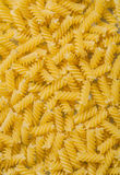 Spiral macaroni background food and drink concept Stock Photo