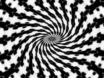 Spiral abstract pattern Stock Photos