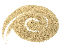 Spiral Made of Lentils Stock Photos