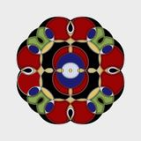 Spiral Mandala Stock Images