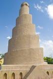 Spiral minaret Stock Image