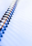 Spiral note-book Royalty Free Stock Photo