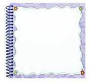 Spiral note book Royalty Free Stock Photography