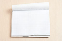 Spiral note pad Stock Images