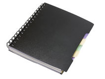Spiral note pad Royalty Free Stock Image