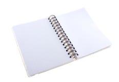 Spiral notebook Stock Photos