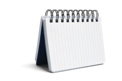Spiral Notebook Royalty Free Stock Photography
