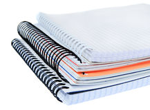 Spiral notebook Stock Image