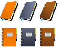 Spiral Notebook Stock Images