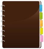 Spiral Notebook royalty free illustration