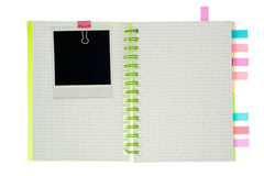 Spiral notebook isolated Royalty Free Stock Photos