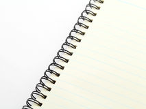 Spiral notebook Royalty Free Stock Photos