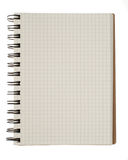 Spiral notebook isolated Royalty Free Stock Photography