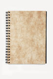 Spiral notebook paper with pattern stock photos