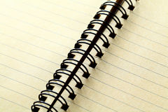 Spiral notebook Royalty Free Stock Images