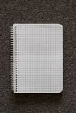 Spiral Notebook. A series of photos with stationery items Royalty Free Stock Photography