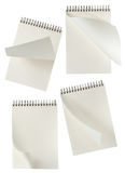 Spiral Notebooks Royalty Free Stock Images