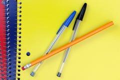 Spiral Notebooks Stock Photos