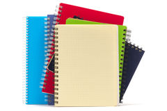 Spiral Notebooks. Stock Photos