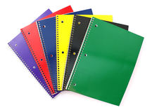 Spiral Notebooks Royalty Free Stock Image