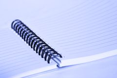 Spiral notepad Royalty Free Stock Photography