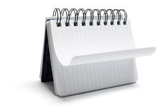 Spiral Notepad Royalty Free Stock Image