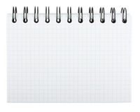 Spiral notepad Stock Photos