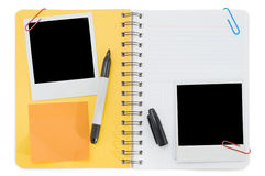 Spiral notepad Stock Image