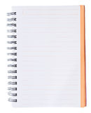 Spiral notepad Royalty Free Stock Photo
