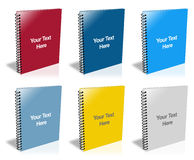 Spiral Notepad Stock Photography