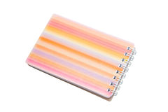 Spiral Notepad. Royalty Free Stock Photos